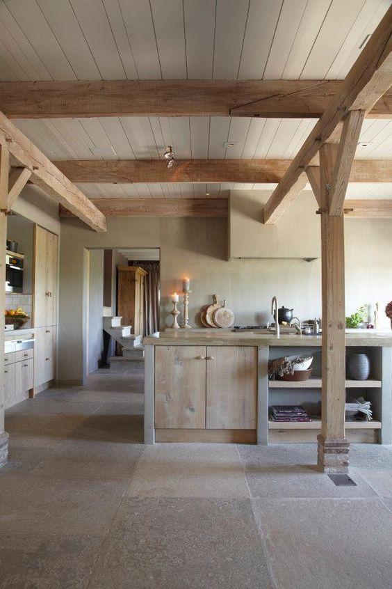 Open Keuken Of Niet : Modern Rustic Kitchen