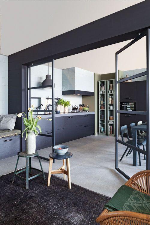 Open Keuken Inspiratie : Outdoor Kitchen Doors Black