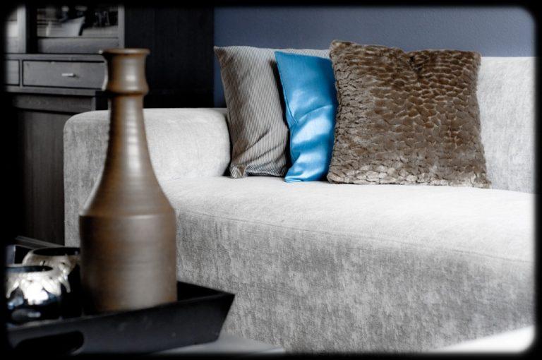 Moderne woonkamer warm