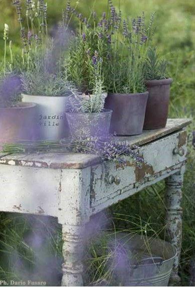 Landelijke tuin styling