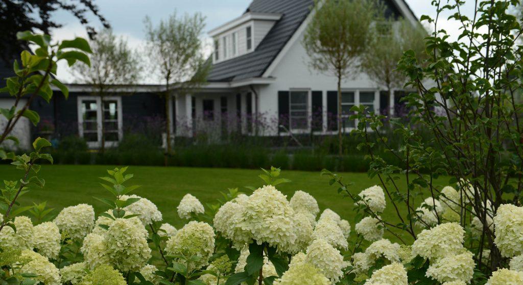 landelijke tuin landhuis
