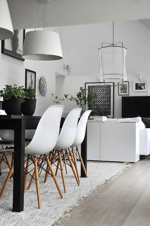 Zwart wit interieur: 15 x simpele Tips, Inspiratie en Ideeen.