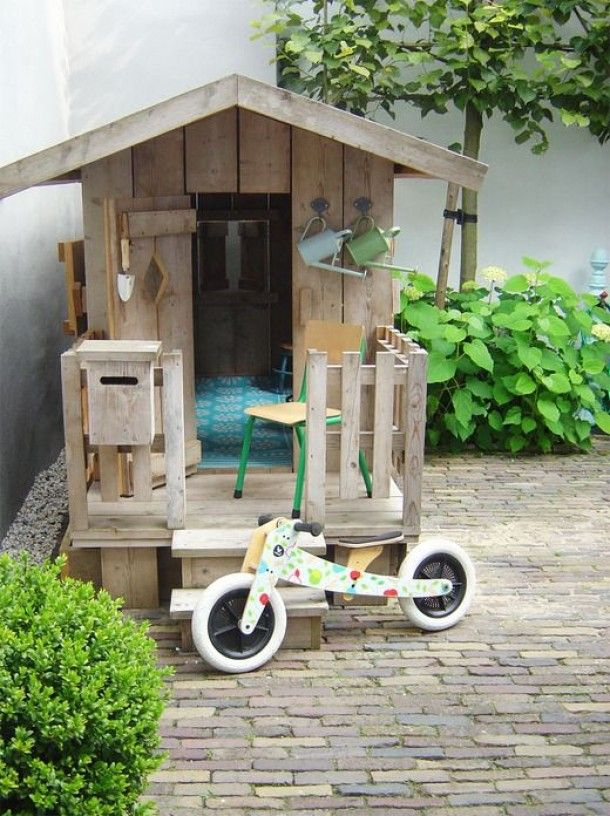 achtertuin kindvriendelijk